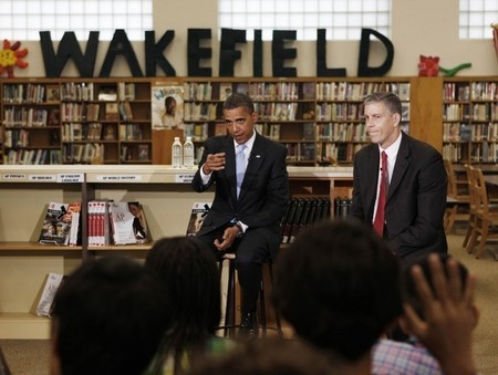 President Obama's Speech at Wakefield High School 3.jpg
