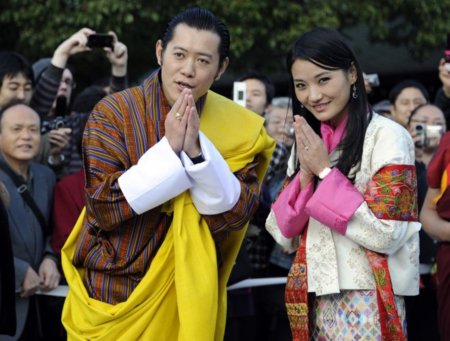 The king and queen of Bhutan.png