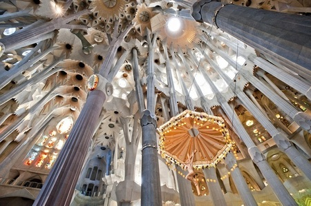 the interior of the Sagrada Familia.jpg