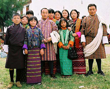 traditional clothing in Bhutan.jpg