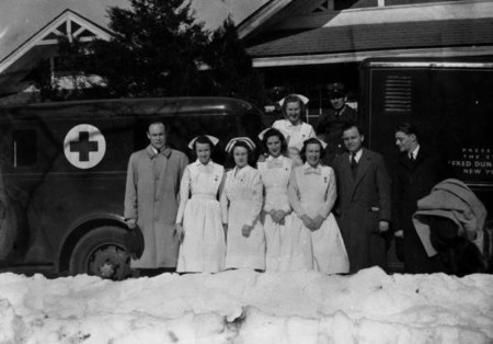 Charles Drew and his staff at the blood bank.jpg